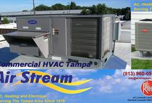 Commercial HVAC Tampa / Air Stream has hands on experience in handling different types of commercial HVAC systems in Tampa.