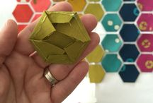 quilt hexagons