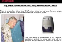 Buy Petite Dehumidifier and Comfy Travel Pillows Online
