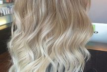 Hair Color - Ash Blond - Balayage - Ombre