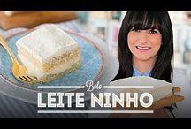 bolo leite ninho
