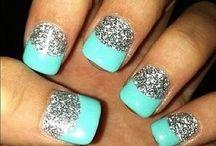Cute finger nail polish ideas! / by Jasmine Kyle