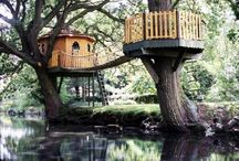 Spaces ~ Tree Houses / NO PIN LIMITS...Re-PIN as many as you wish!