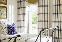 DRAPERY, RUGS, PILLOWS, & WINDOW TREATMENTS / Various styles of drapery, roman shades, pillows & rugs.