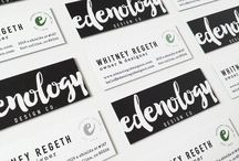 Edenology Design Co. / We are a boutique design studio specializing in brand and packaging development.  Creating a brand is about so much more then just a pretty image. It's about finding the right balance between communicating who you are and make a lasting impression. Whether that's through print materials, brand, or social media; Edenology Design Co. is here to help! Drop us an email, or if you're local, let's grab a cup of coffee. Each and every project is different, so let's see what we can make together!