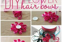 Try to make hair bows