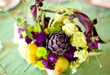 Fruit Centerpieces / Adding Fruit to your Bouquet and Centerpieces adds a natural element, color and texture.  / by Weddings In Iowa