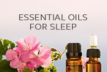 Essential Oils for Sleep / Pins of essential oils that are helpful for sleep, insomnia and sleep issues.