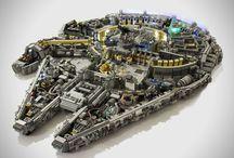 Klocki LEGO / Niesamowite konstrukcje, niebanalne projekty, wspaniałe budowle