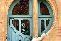 Maison de l'Art Nouveau / (house of new art) art done or inspired by Alphonso Mucha