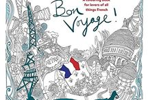 Antistress coloring - Bon Voyage!