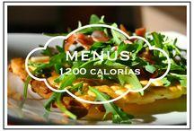 Menú semanal 1200 calorías