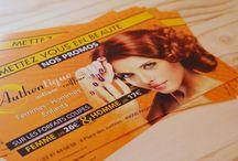Projet - Authentique coiffure / Graphisme print