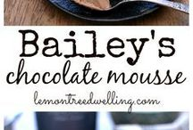 Bailey chocolate mousse