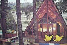 domečky / lesni i moderni domecky....