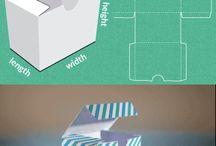 Les modèles de boîte à cadeau