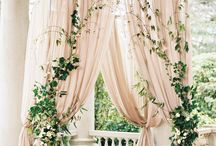ROMANTIC CEREMONIES / We adore everything + anything that is romantic and elegant. Here are our favorite ceremony details that will help you to create that intimate + romantic feeling for your wedding day.
