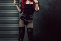 Gothic / Black, gothic, punk, elegant, fetish, leather, lolita