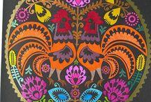 Scandinavian Folk Patterns Coloring Book