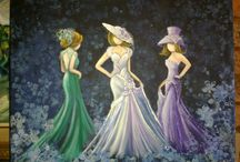 Ronel Swart art / Copyright registered Craftwise and Creative Hobbies magazines. SA.
