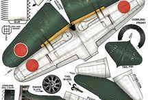 Paper Model Aircrafts