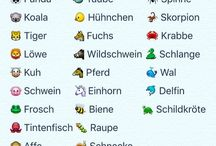 Nemčina Tiere