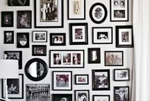 wall of pictures/wall collage / Wall art