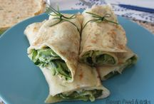 Ricette: Crepes salate & Crespelle / Recipes: savory Crepes & Crepes