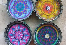 Mandalas / The beauty of these shapes allows us to sink inwards into spiritual contemplation