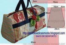 Táskák / Női táskák, férfi táskák, táska szabásminták, táskatípusok