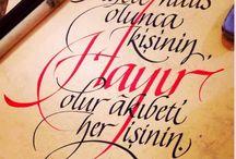 kaligrafi-güzel yazılar