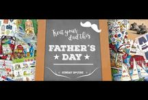 Fathers Day / Father's Day cards, gifts and craft ideas. Children's activities.