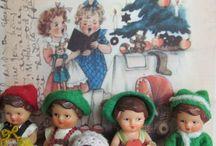 Ari German rubber dolls