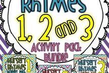 Nursery Rhymes Literacy Reception/Year 1
