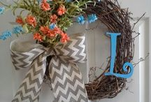 Wreaths-Grapevine / Crafts / by Sherri Hall