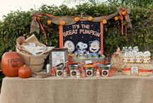 Charlie Brown and the Great Pumpkin Party! / A kid-friendly, non-spooky #Halloween Party. #CharlieBrown #GreatPumpkin