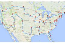 Road Trip US Destinations
