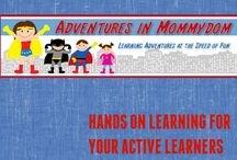Adventures in Mommydom / Hands on Learning for your active learners posts from Adventures in Mommydom  / by Ticia Adventures in Mommydom