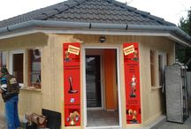 Épület dekorációk/Building decoration / Épület dekorációk, molinok, reklámtáblák