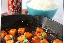 Spicy foods {vegetarian} / Spicy vegetarian foods