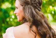Hair & Makeup / Hair and makeup inspiration ... a celebration of the modern romantic bride
