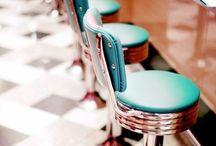 -Shop/Diner- / Interiors for my dream Diner/Café/Shop <3