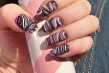 a Nails Water Marmol