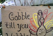 Gobble til you Wobble / Thanksgiving Ideas / by Brooke Bri-Ann