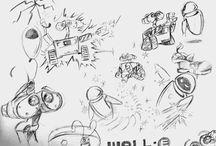 Art & Doodles - Wall E