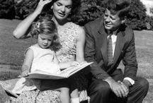 Jackie O / The epitome of a renaissance woman -- classy, ladylike, loving mother, faithful wife, generous philanthropist, wonderful hostess, and most famously, trendsetter. / by Sydney Becker