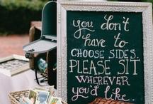 the inevitable wedding idea pinboard