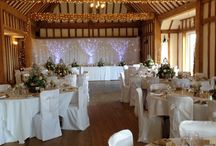 Vaulty Manor, Wedding Venue, Essex. Our gorgeous barn / Pictures of inside our Wedding Barn from different Weddings