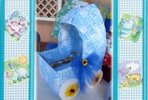 Baby Shower / Baby Carriage Receiving Box / by Terry Lorenzana