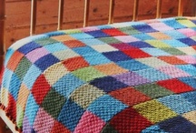 Knitted or crochet blankets